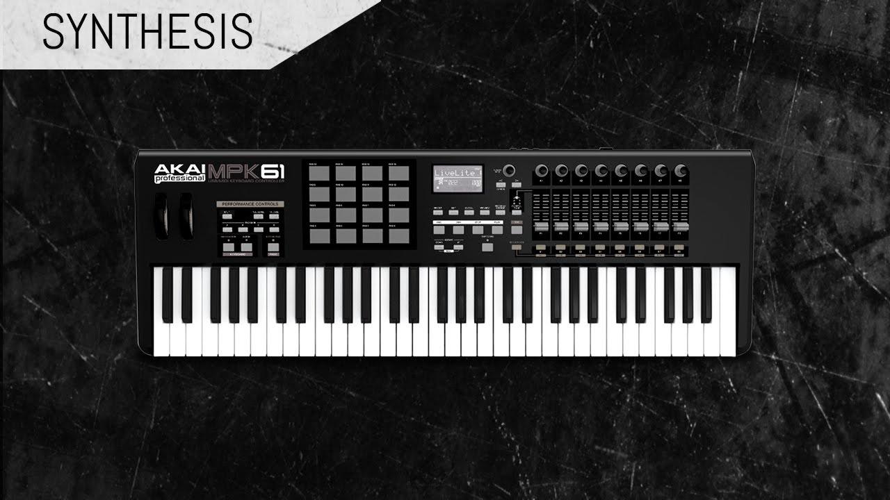 MIDI Synth Application - Node js + Socket io + Web Audio API