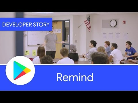 Android Developer Story: Remind - Growing with Android and Google Play