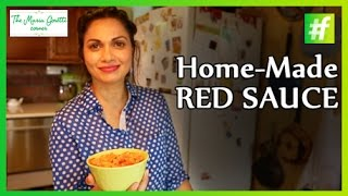 How-to Make Tomato Red Sauce - Maria Goretti