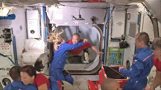 video: Four SpaceX astronauts reach International Space Station after historic launch