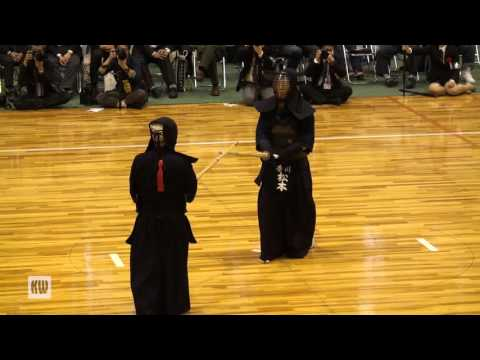 14th All Japan Invitational 8-dan Kendo Championships — Quarter-final 2