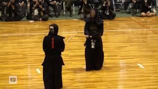 14th All Japan Invitational 8-dan Kendo Championships — Quarter-final 2