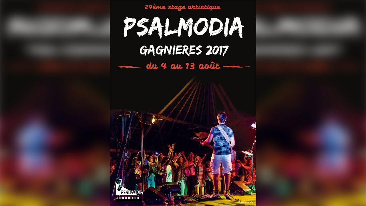 Stage Artistique Psalmodia 2017