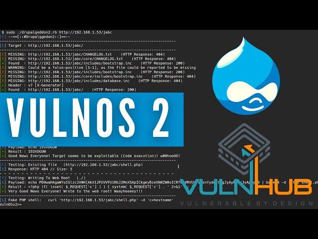 VulnOS V2 - VulnHub Walkthrough - Boot-To-Root