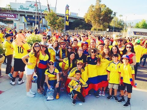 Colombia vs Paraguay Copa America 2016 - My 1st Colombia Game !