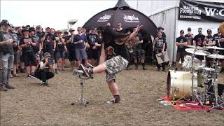 WOA - Funniest Drum Solo at Wacken Foundation 2019