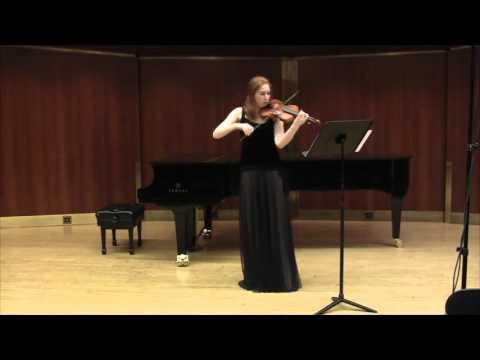 Pisendel Solo Violin Sonata movement 2