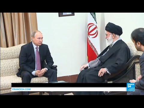 "Iran: Putin meets ayatollah Khamenei for talks on Syria, ""determined to defend Assad's regime"""