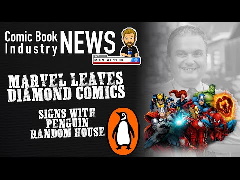 Marvel Leaves Diamond Comics, Signs Exclusive with Penguin Random House