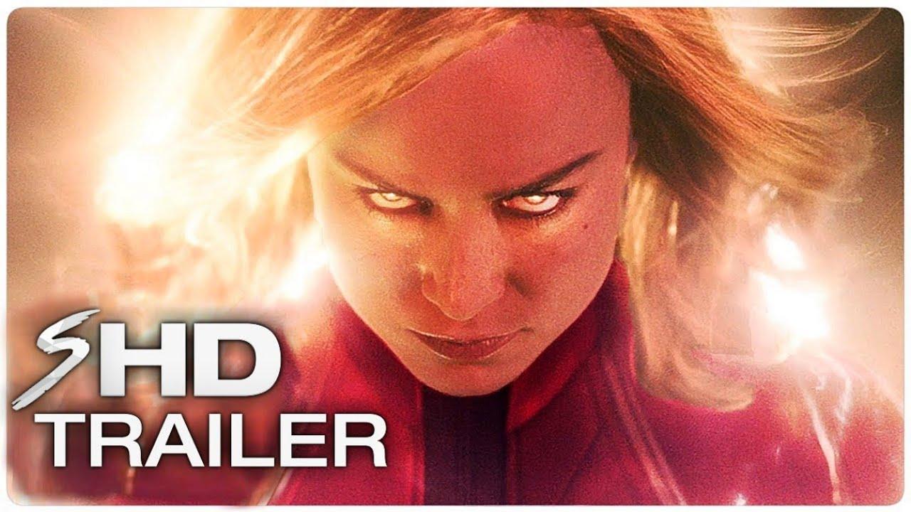 CAPTAIN MARVEL Official Trailer (2019) Brie Larson Marvel Movie