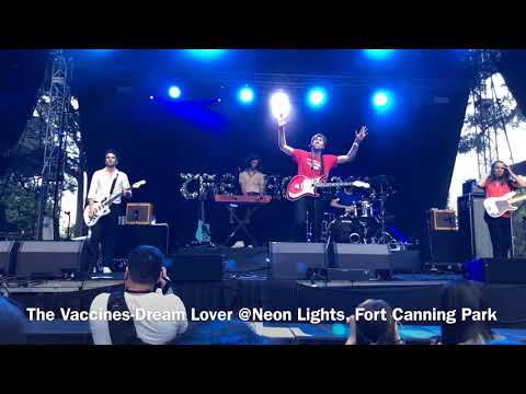 The Vaccines @Neon Lights, Fort Canning Park, Singapore 10/11/2018 Mp3