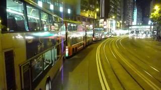 過海隧道巴士路線 102 (美孚 至 筲箕灣) 全程前面展望
