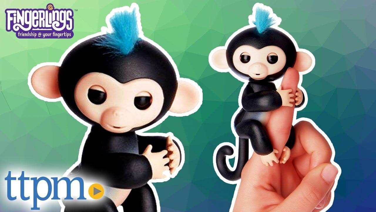Fingerlings Baby Monkey From Wowwee Youtube