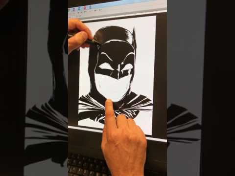 Live Drawing: Adam West Tribute