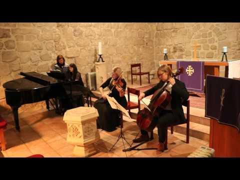 Amaya Trio - Lutheran Church of the Redeemer, Jerusalem, Israel