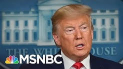 Trump: First U.S. Death From Coronavirus Was A 'Medically High-Risk' Patient | MSNBC