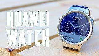 Huawei Watch, primeras impresiones MWC 2015