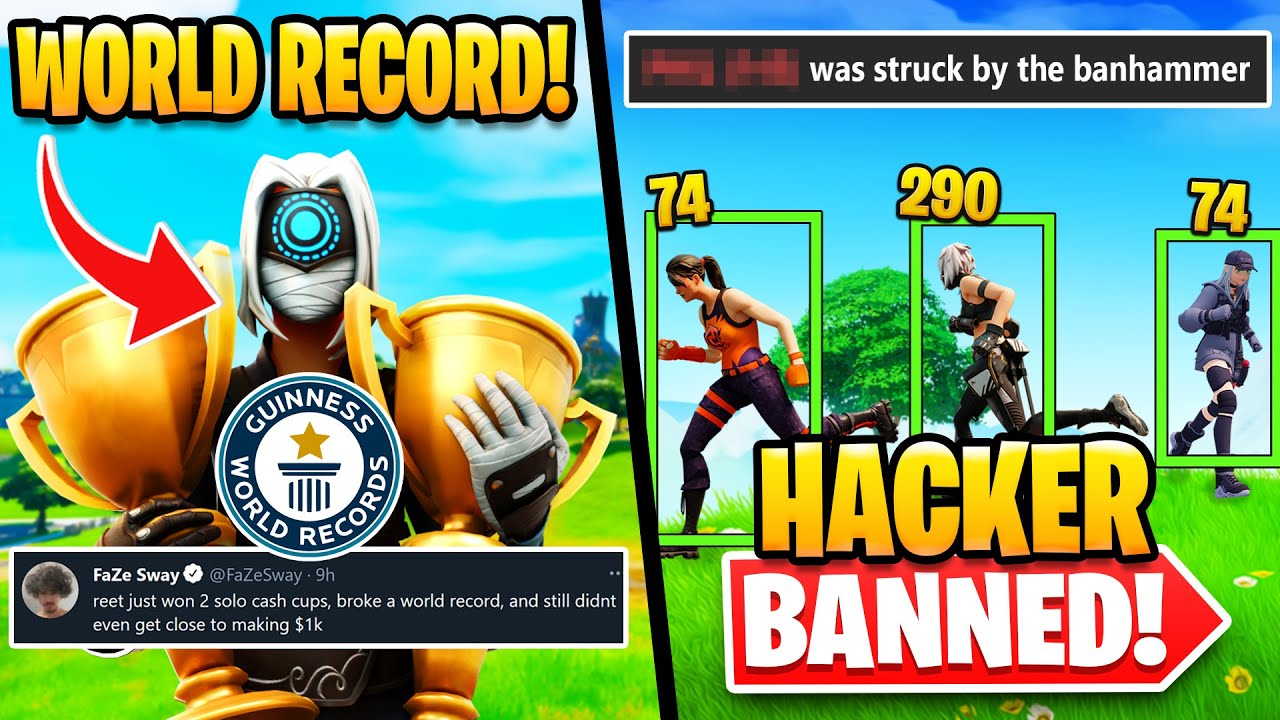 Reet Breaks World Record in TWO Cash Cups   Hacker Banned Mid Tourney