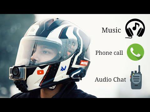 Convert Your Helmet Into Bluetooth Headphones | Bluetooth Intercom