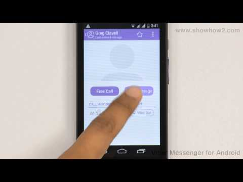 Viber Messenger - How To Send A Photo