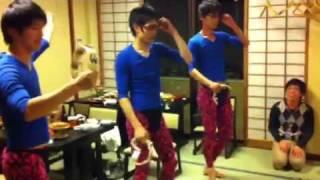 無表情なダンサーが!(◎_◎;) やる時はやります。