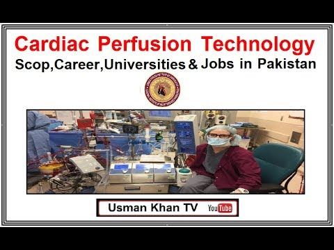 Cardiac Perfusion in Pakistan ,Allied Health Sciences (Your Bright Future)