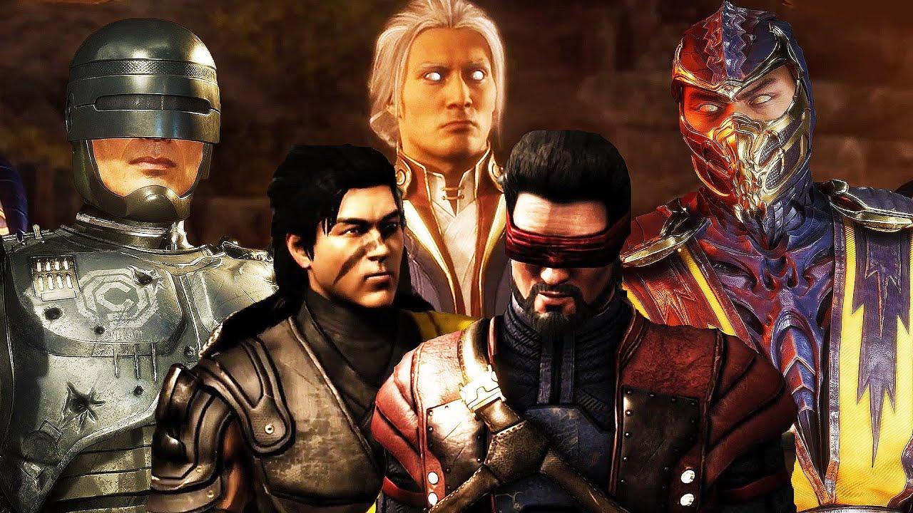 Kombatants Remembering Takeda and Kenshi - Mortal Kombat 11 Aftermath (MK11 Aftermath DLC 2020)