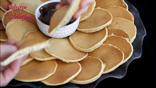 Pankek nasıl yapılır? - Kahvaltılık tahinli pankek tarifi (pancake) - Kahvaltılık tarifler