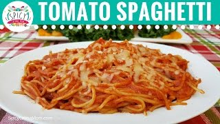 Mexican Spaghetti Recipe with Tomato Sauce | Mexican Food - Spicy Latina Mom