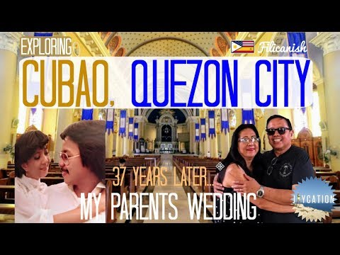 EXPLORING CUBAO QUEZON CITY | Philippines Travel Vlog