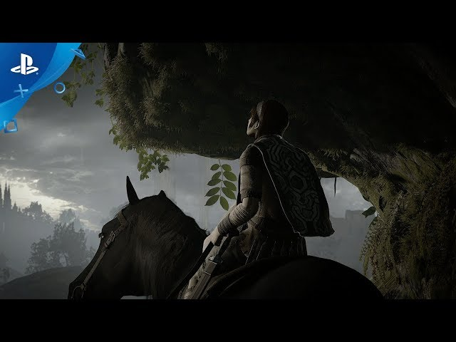 Shadow of the Colossus - Paris Games Week 2017 Trailer | PS4