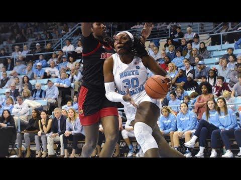 UNC Women's Basketball: Heels Comeback Comes Up Short Vs #5 Louisville