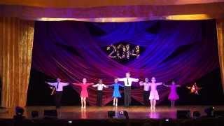 Отчетный концерт народного ансамбля бального танца ФЕЕРИЯ