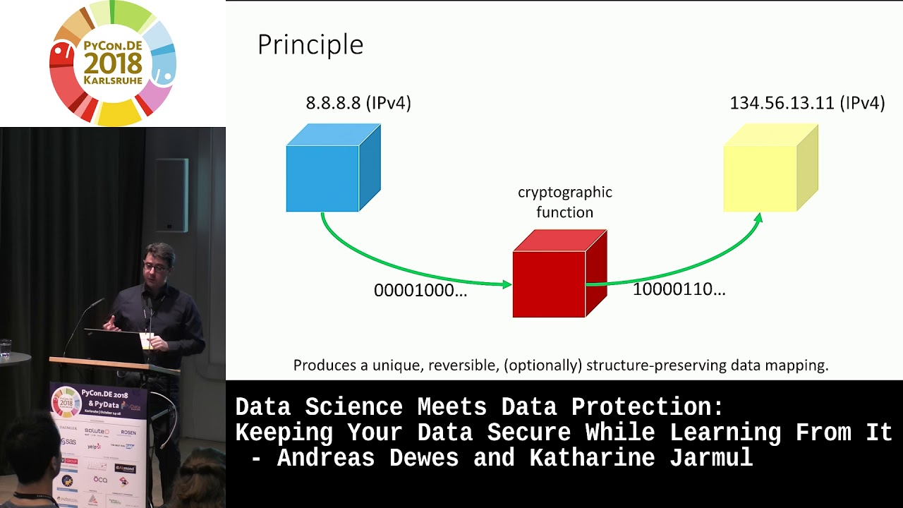 Image from Data Science meets Data Protection: Keeping your data secure while learning from it.