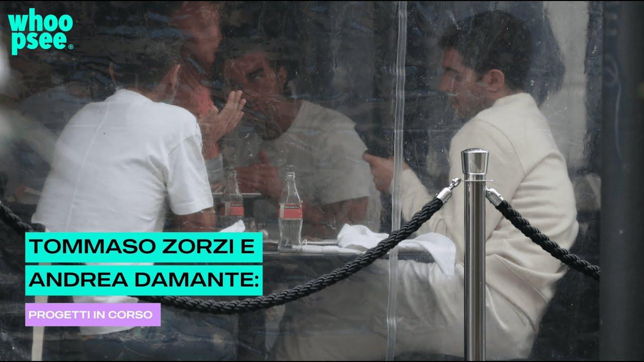 Tommaso Zorzi e Andrea Damante: progetti in corso
