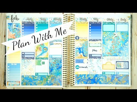 Plan With Me / Giveaway & Collab with EricaGDesigns