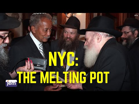 the lubavitcher rebbe to mayor david dinkins the melting pot youtube