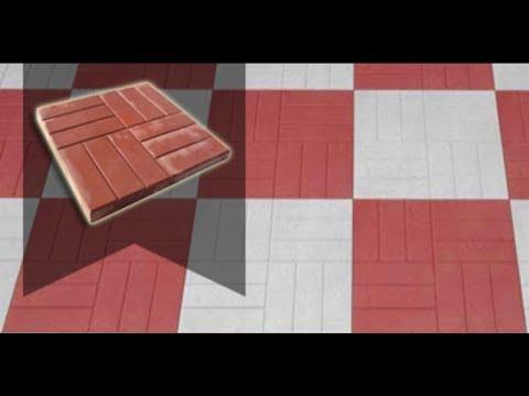 Формы для тротуарной плитки 500х500, желобы, бордюры