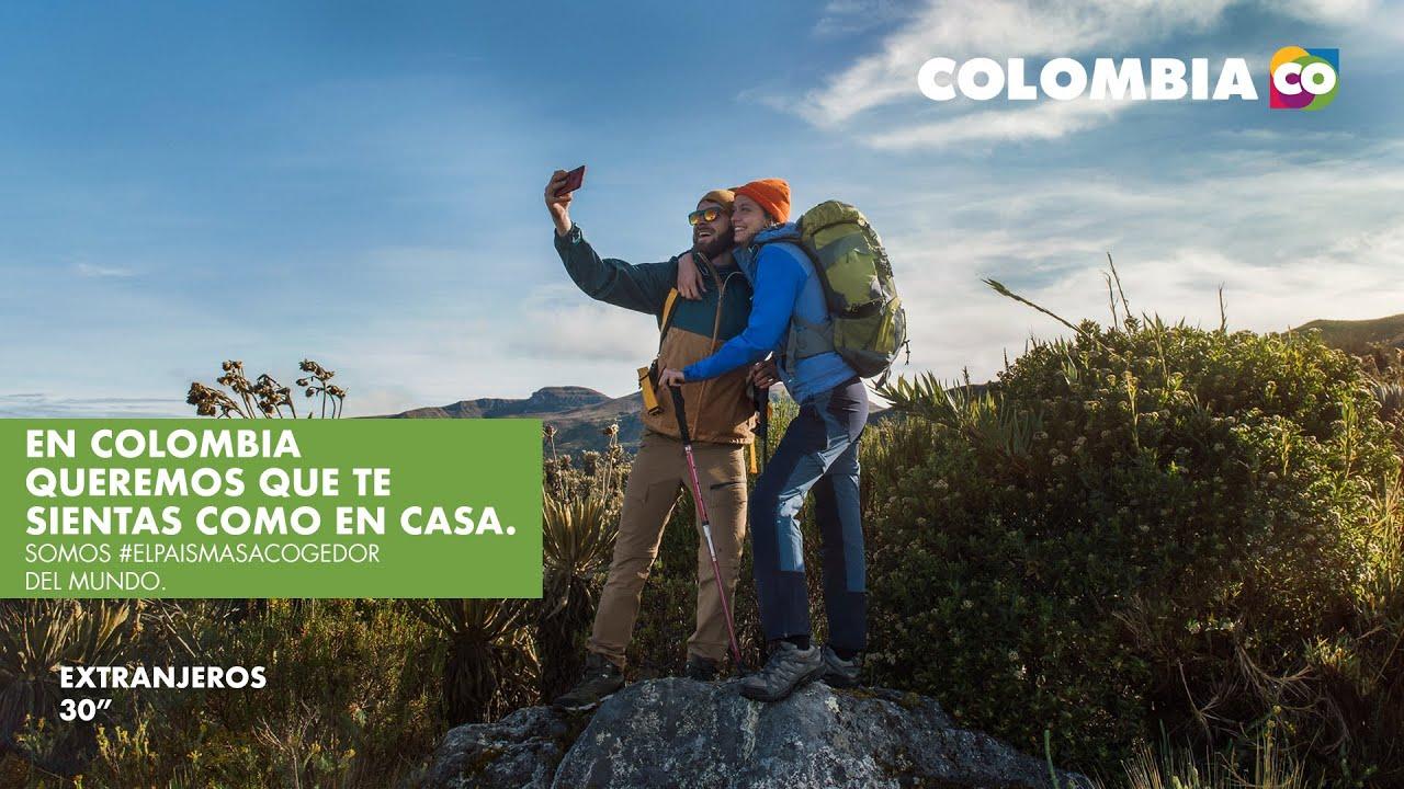 En Colombia queremos que te sientas como en casa. Somos #ElPaísMásAcogedor del mundo