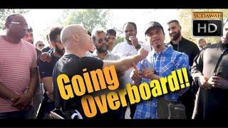 Going Overboard! Mansur Vs Rude Christian | Old is Gold | Speakers Corner | Hyde Park