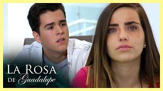 La Rosa de Guadalupe: Eugenio termina con Azucena al saber que perdió la vista   Con ojos de amor