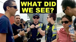 We witnessed something shocking... and the police didn't stop it!