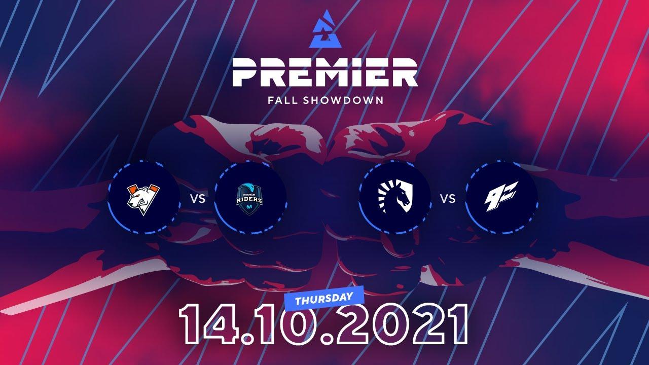 BLAST Premier Fall Showdown, Day 3: Virtus.pro vs. Movistar Riders, Team Liquid vs. 9z