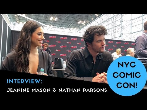 NYCC 2019: Jeanine Mason & Nathan Parsons Interview