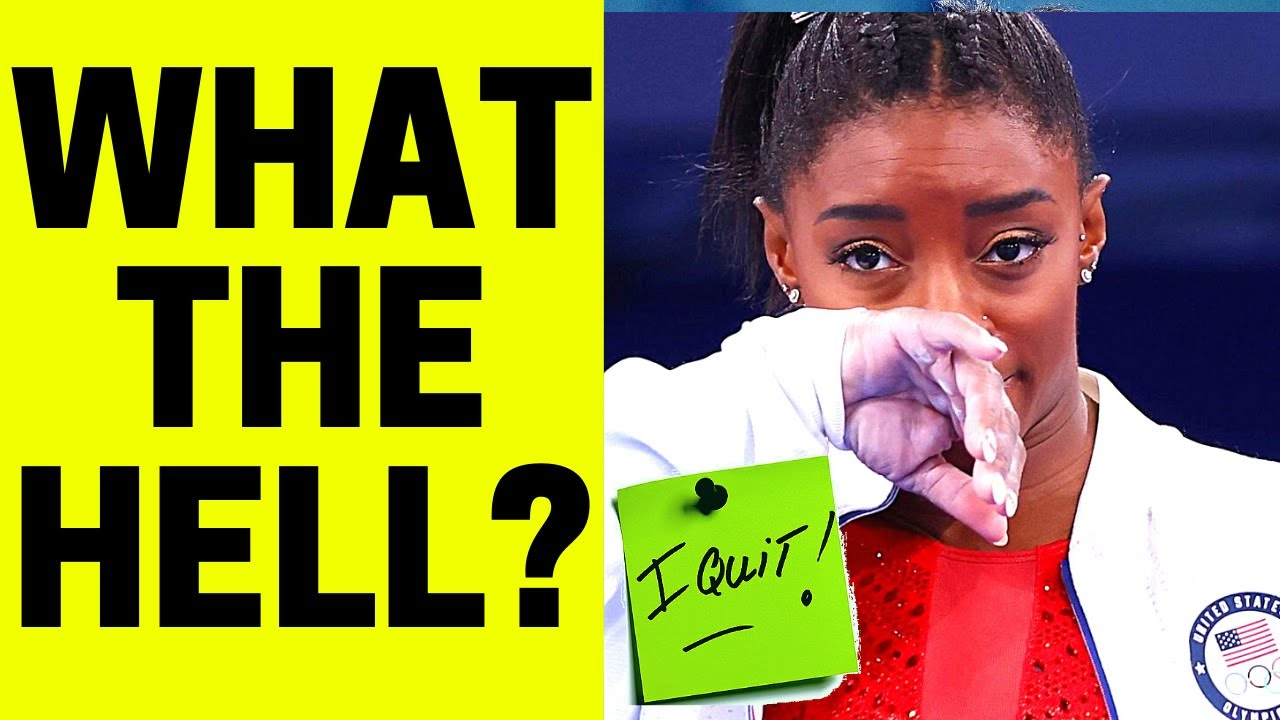 THE WORLD HAS GONE NUTS #15 (Olympic Edition...Simone Biles QUITS!)
