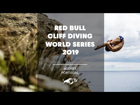 Red Bull Cliff Diving World Series 2019 LIVE | Azores, Portugal