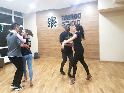 Kizomba Sandra Dka Cervera & Cesar David Mataran music: My friend - Groove Armada