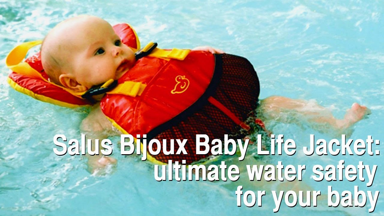 Salus Bijoux Baby Life Jacket Ultimate Water Safety For Your Baby