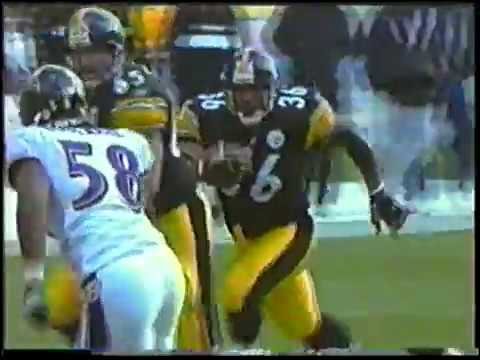 Ray Lewis hit on Jerome Bettis