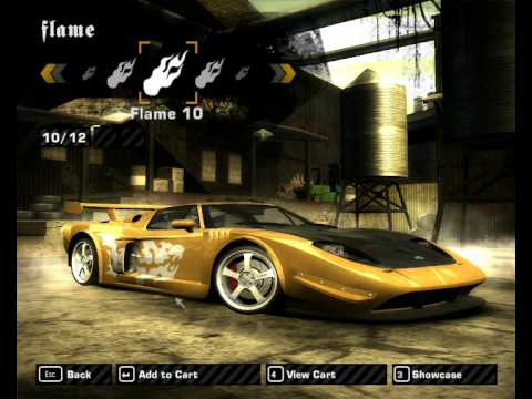 Need For Speed Most Wanted Ford Gt Tuning